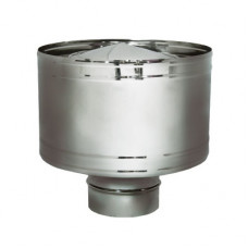 Дефлектор на расш. DHR d120, зерк. (Вулкан)