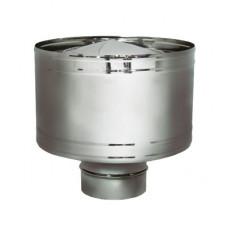 Дефлектор на расш. DHR d130, зерк. (Вулкан)