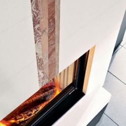 Вертикальная вставка для Dromond (EdilKamin)