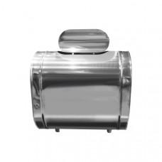 Бак для воды настенный, горизонтальный, нерж304, 76л (Вулкан)