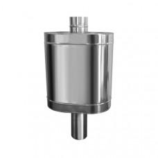 Натрубный бак для воды D115, нерж304, 48л (Вулкан)